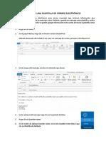 Crear Una Plantilla en Outlook