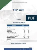 Apresentação PLOA 2018