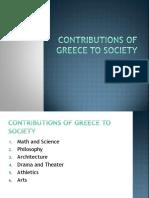 greece contributions to civilization