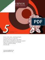 Revista Sin Contornos 05 (espacio de entramado psicoanalítico)
