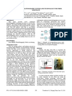 Continuous Photolithography System and Technology for Fiber Substrate