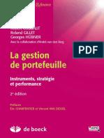 La gestion de portefefeuille +pdf