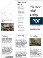 colonial brochure- new york  1