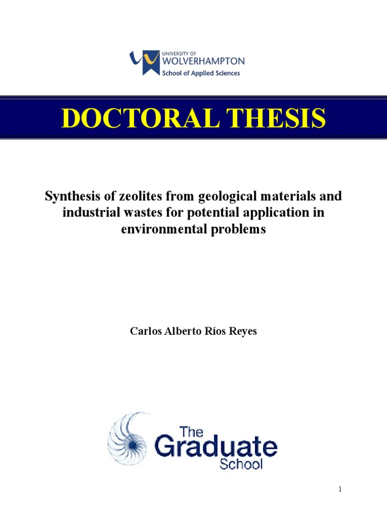 Phd thesis waste management