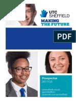 UTC Sheffield Prospectus 2017 18