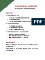 1. Dsp. Señales y Sistemas Discretas