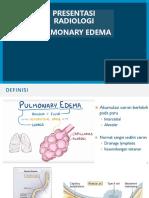 Edema Paru Radiology