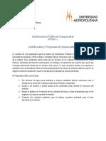 Plan de Trabajo Preparadurías IPC