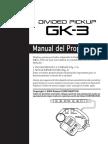 GK-3 Instrucciones en Castellano