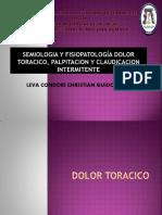 Semiologia y Fisiopatología Dolor Toracico