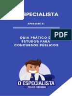 eBook o Especialista-guia Pratico de Estudos Para Concursos Publicos 2