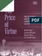Susana Mourato, David Pearce, Ece Ozdemiroglu the Price of Virtue the Economic Value of the Charitable Sector