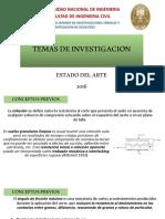 Temas de Investigacion