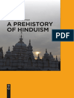 Devadevan 2017 a Prehistory of Hinduism