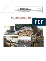 Manual Plan de Emergencias Técnicas