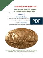 The Ellipse and Minoan Miniature Art