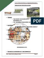 Año de La Inversión Para El Desarrollo Rural y La Seguridad Alimentaria (HGE)