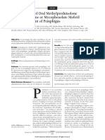 A Comparison of Oral Methylprednisolone Plus Azathioprine or Mycophenolate Mofetil for the Treatm