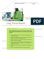Long Formal Reports