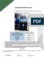 Características Técnicas UC-700 K