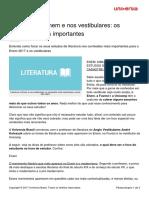 Literatura ENEM - Conteudos Mais Importantes