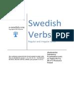 Swedish Verbs e Swedish1