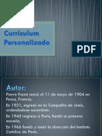 Currículum Personalizado