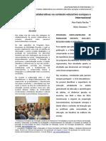 Pontes colaborativas no contexto educativo europeu e internacional