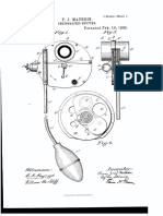 Shutter patent for wooden camera