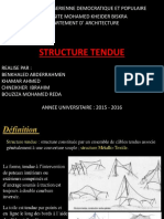 Structure Tendue