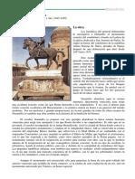 Comentario_t9_ Condottiero Gattamelata Donatello