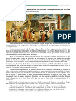 Comentario  La Vera Cruz Piero Della Francesca