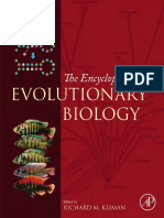 Kliman, Richard M Encyclopedia of Evolutionary Biology