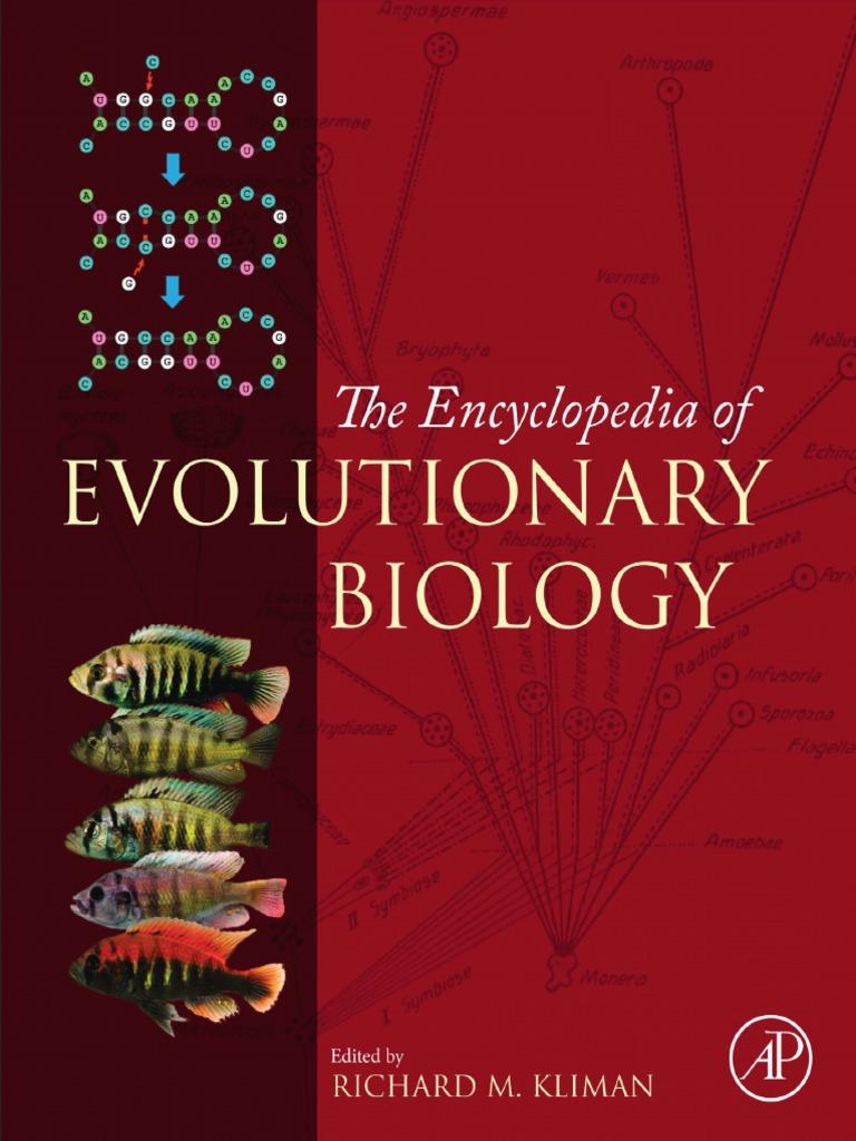 Kliman richard m encyclopedia of evolutionary biology kliman richard m encyclopedia of evolutionary biology evolutionary biology evolution fandeluxe Choice Image