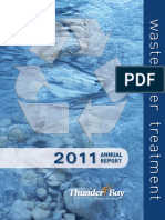 water pollution control plant annual report 2011