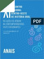 [Encontro História Oral] Publicação_História de Vida e a Construção Da(s) Masculinidades(s) Negra(s) Homossexual(is)