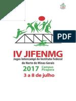 Tabela JIFENMG 2017 Site 2