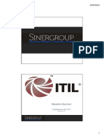 Itil Foundations St