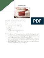 Recipe Cake