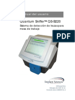 QS-B220 User Manual 42400023 Rev a New Sieve Canister_Spanish