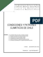Condiciones y Patrones Climáticos de Chile