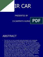 Air Car Ppt by CH.sampATH