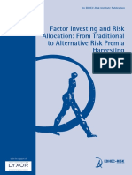 EDHEC Publication Factor Investing and Risk Allocation