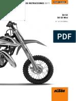 Manual Ktm 50sx 2017