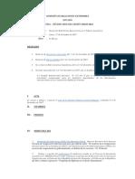 Relaciones Exteriores. Agenda Documentada. 11 Dic