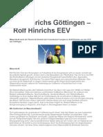 Rolf Hinrichs Göttingen – Rolf Hinrichs EEV