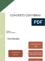 Concreto Com Fibras - apresentação