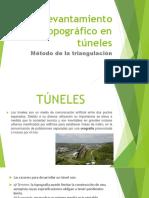 Levantamiento Topográfico en Túneles