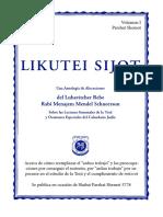 Likutei Sijot Shemot 2018