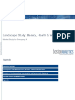 Case Study Beauty Health and Wellness Industry